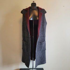 Moth Felted Duster Vest